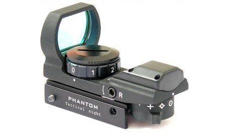 Tactical Laser Sight for Wildlife Shooting reddotreflex