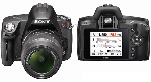 Sonys Upcoming A290 DSLR Leaked sony290