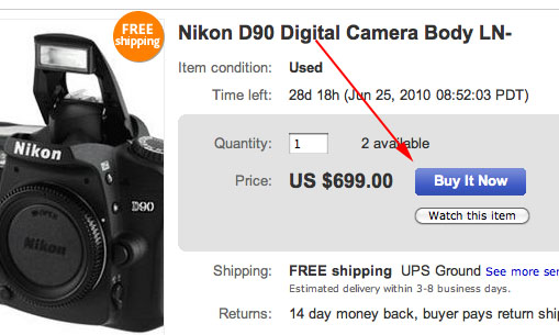 7 Easy Steps for Instant Cashback on Photo Gear Using eBay step5