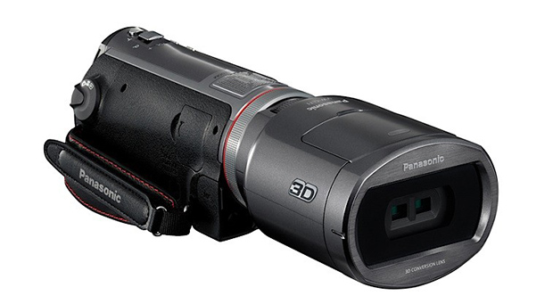 Panasonic Unveils Worlds First 3D Camcorder, Announces 3D Lens pana3d
