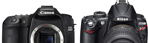 Canon 60D and Nikon D3100 Rumors Heating Up, Release Imminent canon60DnikonD3100
