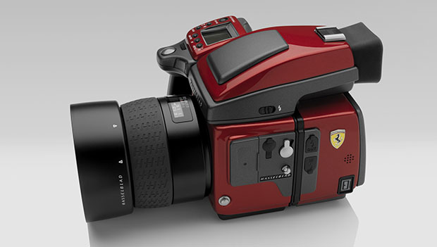 Hasselblad Tries to One Up Leica with 499 Ferrari H4D Cameras hasselbladferrari