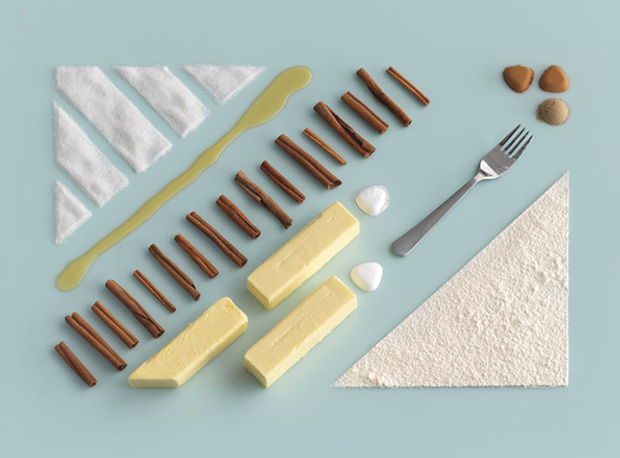 Beautiful IKEA Baking Recipe Ingredient Photos by Carl Kleiner ikea1