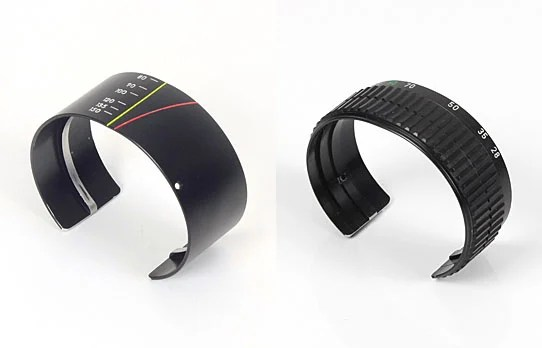 Stylish Cuffs Created from Old Lenses cuffs