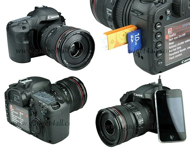 Confuse Your Friends with this Canon DSLR USB Speaker canonspeaker