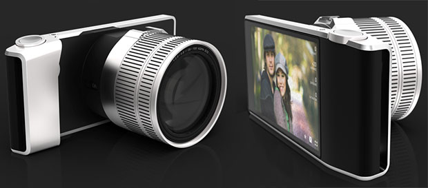 Wireless Viewfinder Interchangeable Lens Concept Camera wvilconcept