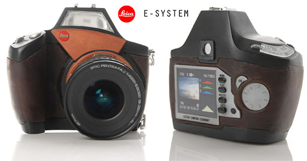 Concept Design for a Leica E System DSLR Camera leicaesystem