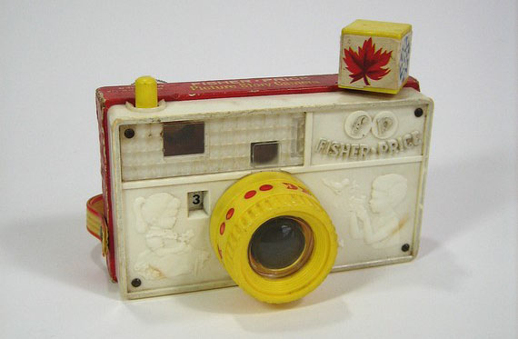 Hook Your Child on Photography with this Vintage Fisher Price Shooter fishcam