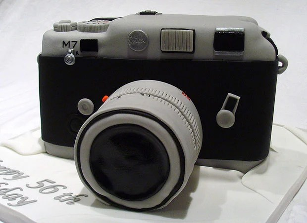 Limited Edition Titanium Leica M7 Cake leicacake