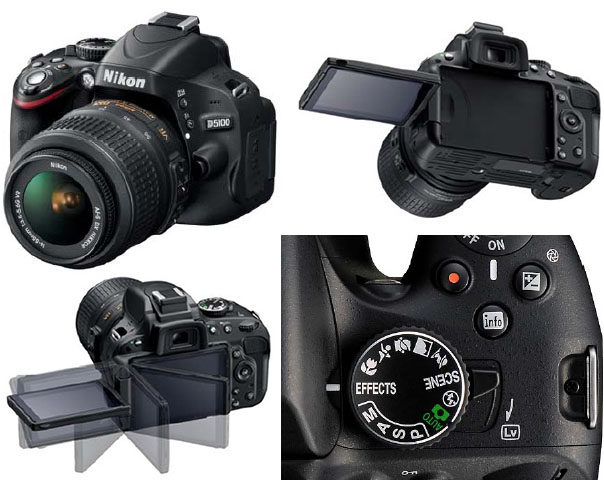 Nikon D5100 Photos Leaked, Rumored to Boast ISO 102400 nikond5100