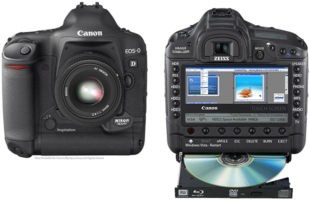 Canon EOS 0: All the Bells and Whistles You Never Wanted to See on a DSLR eos0