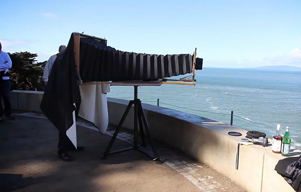 Massive Six Foot Long Homemade Large Format Camera massivelargeformat