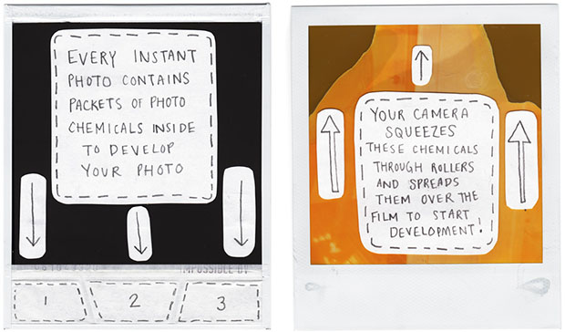 How Polaroid Instant Film Works polaroid
