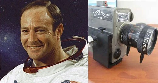 NASA Accuses Astronaut of Swiping Moon Camera, Sues to Get It Back mooncamera