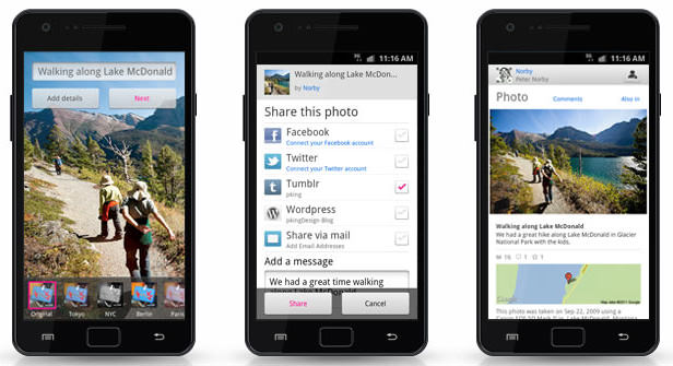 Flickr Launches Android App and Cool Photo Sessions Feature android mini