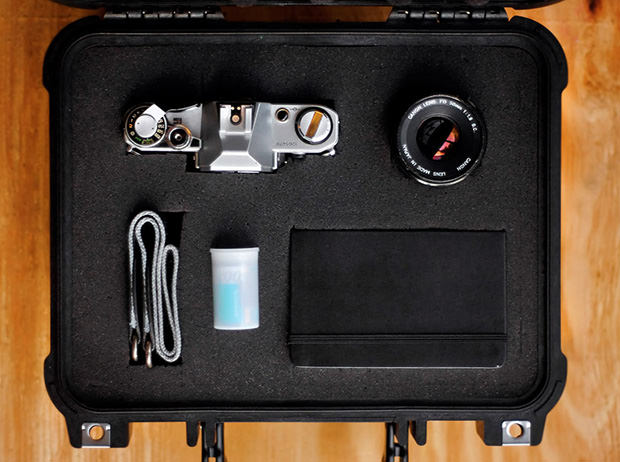 Analog Camera Kits to Travel Between Photojournalists Around the World focused mini