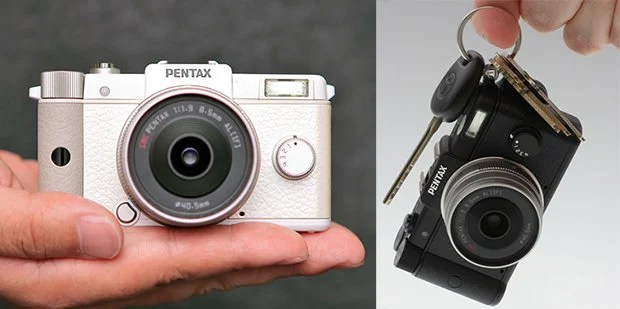 The Pentax Q is Certainly Small, but Theres No Magic At Play pentaxq mini