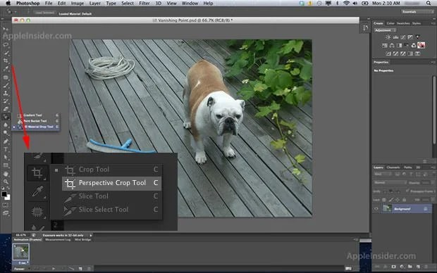 A Glimpse of Photoshop CS6: Darker UI, Perspective Crop, and Auto Save ps6 mini