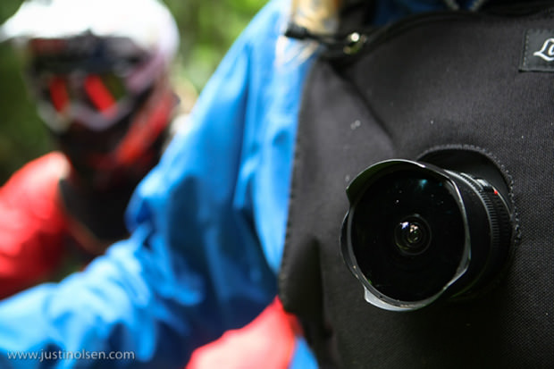 Mountain Biking Photos Captured with a Chest Mounted DSLR chest1 mini
