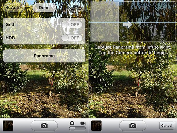 How to Unlock the Hidden Panorama Mode in iOS 5 Without Jailbreaking panoramic1 mini