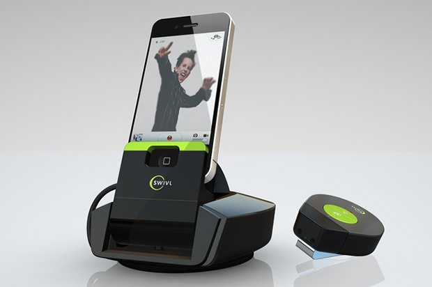 Swivl: A Motion Tracking Dock that Keeps Your Camera Pointed At You swivl mini