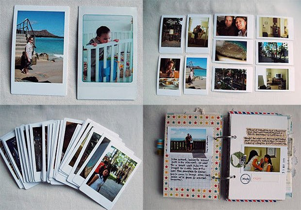 Turn Your Old Digital Photos into Faux Instax Prints instax mini