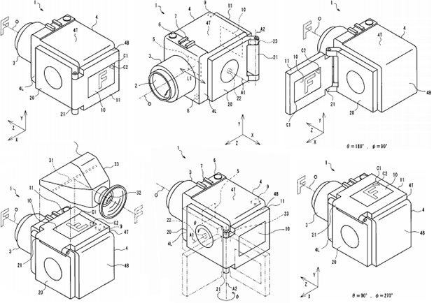 Olympus LCD Screen Patent Appears to Show Medium Format Digital Camera olypatent mini