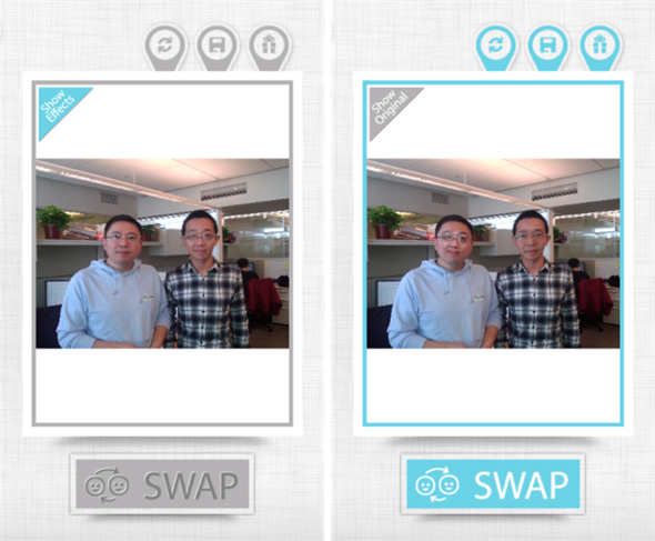 Face Swap App Lets You Quickly Swap Faces With Friends swap mini