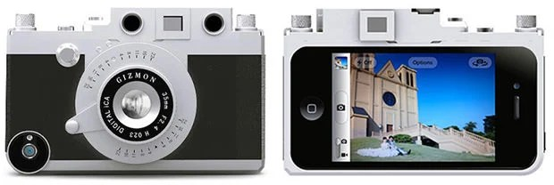 Gizmon iCA Case Turns Your iPhone Into a Wannabe Leica Rangefinder gizmon mini