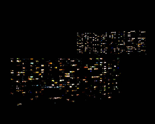 Lightscapes: Nighttime Cityscapes With the Cities Stripped Away lightscapes1 mini