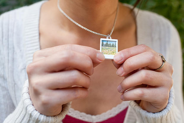 Introducing the Instant Photo Pendant Necklace! pendant1s mini