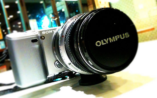 Sony Looking to Buy 20 30% of Olympus sonyolympus mini