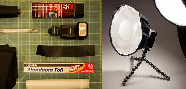 Make a DIY Collapsible Beauty Dish speedlitediffuser mini