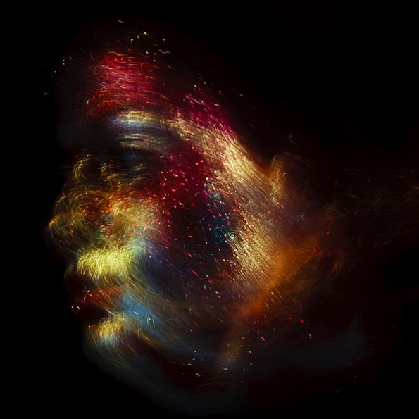 Abstract Photos of Faces That Resemble Exploding Fireworks makeup1 mini