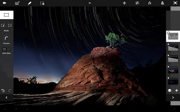 Adobe Launches Photoshop Touch for iOS and Android Tablets pst1 mini