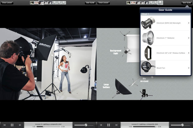 Free iPad App with Lighting Recipes by Scott Kelby lighting mini