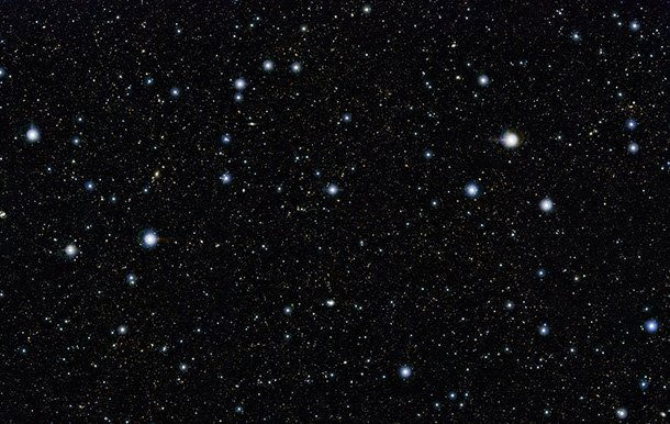 55 Hour Exposure of a Tiny Patch of Sky Reveals 200,000 Galaxies sky1 mini