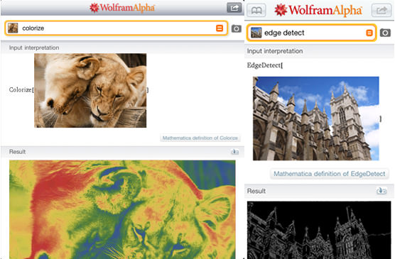 Wolfram Alpha Brings Advanced Image Processing to iOS wolframalpha mini
