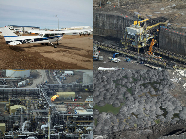 Photographer Takes to the Sky After Being Denied Access to Oil Mines albertasands2 mini