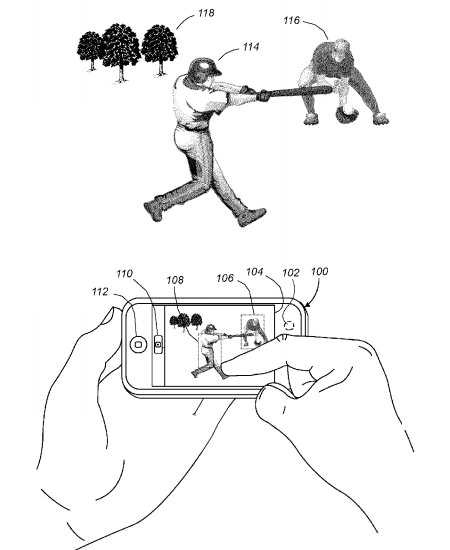 Apple Patents Multi Point Exposure/Focus Selection for the iPhone applepatent mini