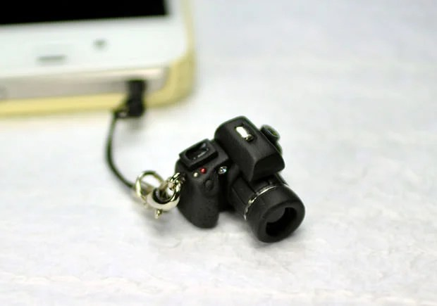 Miniature DSLR Earphone Jack Plugs cam1 mini