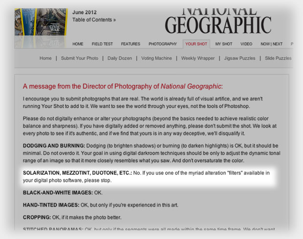 Nat Geo on Photo Filters: Please Stop natgeostop mini