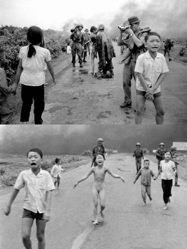 Photographer Reflects on Missing Napalm Girl Photo While Loading Film vietnam
