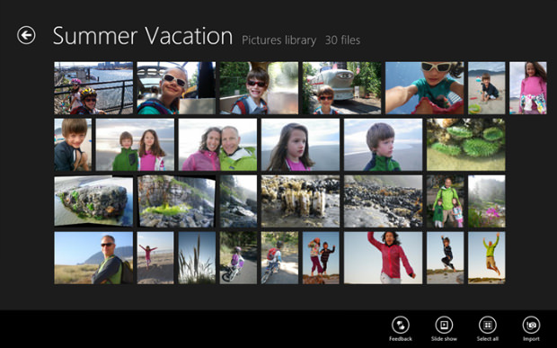 Sneak Peek at the Windows 8 Photos App win8photoapp1 mini