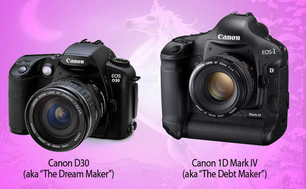 Want Versus Need: Pitting the Canon D30 Against the 1D Mark IV 1 mini