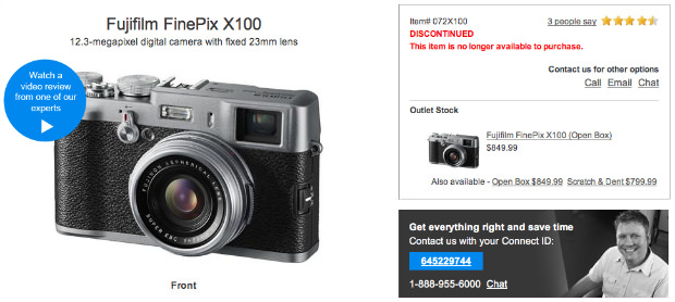 Fuji Discontinues X100, Possibly Bringing X200 Follow Up to Photokina 