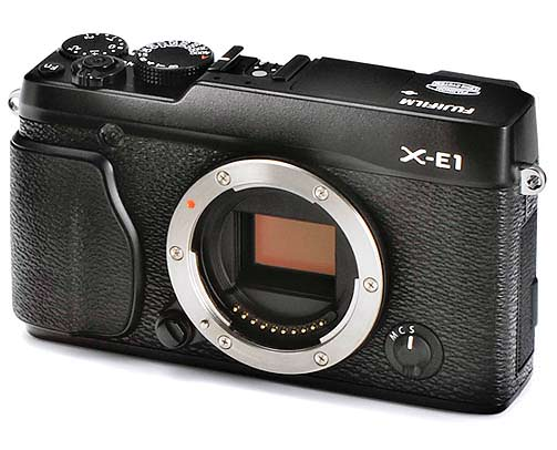 Leaked Photos of Fujis More Affordable X E1 Mirrorless Camera 