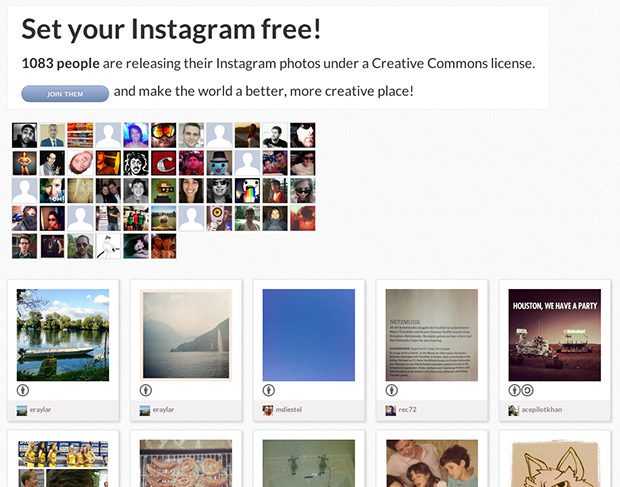 I Am CC Allows Instagram Users to Share Under a Creative Commons License iamcc1 mini
