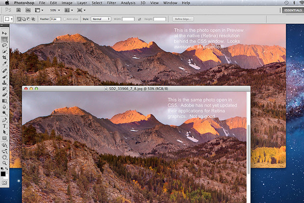 Adobe Says Retina Support is Coming to Photoshop CS6 and Lightroom 4 retina mini