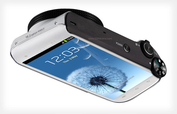 Samsung Said to be Working on a Camera Based on the Galaxy S Phone samsunggalaxycam mini